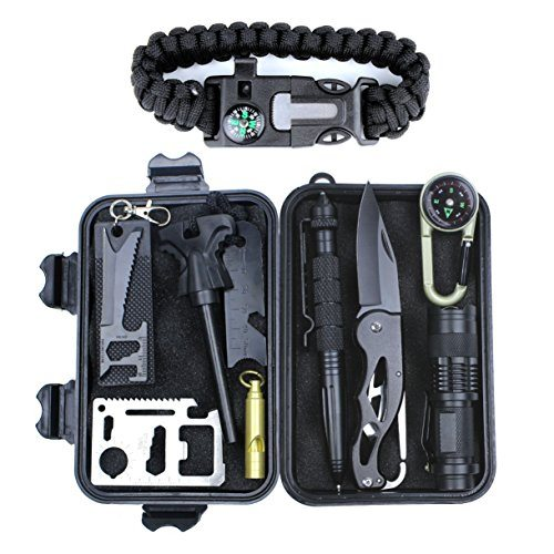 HSYTEK Survival Gear Kit 11 in 1 Whole Review
